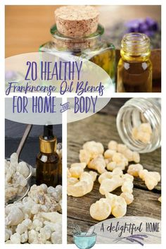 20 Healthy Frankincense Oil Blends for Home & Body | aDelightfulHome.com