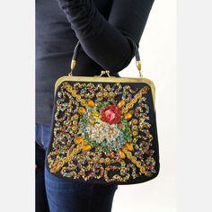 Wool Felt Handbag by Cheeky Vintage | Fab.com $144