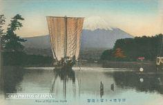OLD PHOTOS of JAPAN: 静岡県田子ノ浦 1900年代の富士山