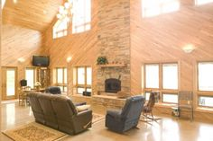 3399-20 great room windows/fireplace