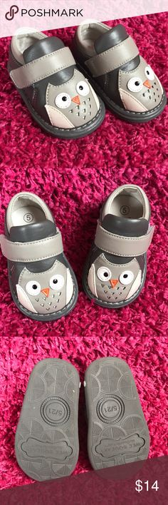 f5d6f35446f0 Wee Squeak Owl Shoes Adorable shoes for your little as he she starts  walking!