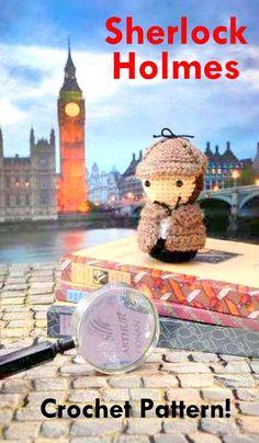 Sherlock holmes Crochet pattern, Sherlock holmes amigurumi Pattern, Amigurumi Sherlock holmes Crochet, Sherlock holmes crochet pattern, Sherlock holmes crochet, Sherlock holmes amigurumi, crochet Sherlock holmes Amigurumi, Sherlock holmes crochet toy, Sherlock holmes amigurumi sherlock holmes,