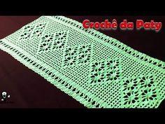 YouTube Filet Crochet, Crochet Doilies, Blanket, Crocheting, Crochet Carpet, Crochet Cow, Crochet Baby Bikini, Crochet Ornaments, Needlepoint