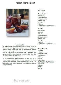 Apfel Pflaumen Marmelade kochen Rezept
