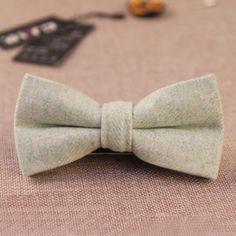 2016 Fashion Men's Formal Wear Business Bowtie Men's Solid Color Wool Cravat Unisex England Style Bow Tie Clothes Accessories
