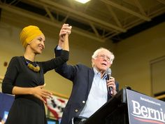 "Bernie Sanders said at a Virginia Democratic primary campaign rally that Rep. Ilhan Omar was ""one of the greatest people I know. United States Congress, Literacy Programs, Super Tuesday, Fidel Castro, Extraordinary People, Rabbi, Muslim Women, Young People, Bernie Sanders"
