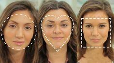 Aprenda agora a ressaltar os pontos fortes do seu rosto apenas com dois tons de base e um pó bronzeador. - Veja mais em: http://www.vilamulher.com.br/beleza/maquiagem/como-aplicar-base-de-acordo-com-seu-tipo-de-rosto-2-1-12176992-84.html?pinterest-destaque
