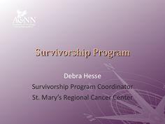 survivorship by Academy of Oncology Nurse Navigators, Inc. via Slideshare