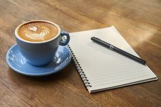Write it down! When you're not okay grab a coffee and write it all down. Everything!