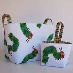 Fabric Organizer Storage Container Bins Baskets  Set by BaffinBags, $32.00