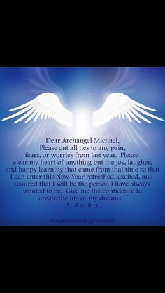 Archangel Michael prayer More More