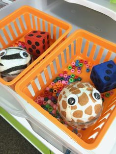 Fine Motor Activities for Morning Work Centers - Tennis Ball