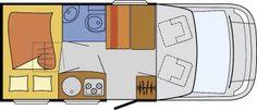Wohnmobil Glücksmobil T 600 - Vollaustattung: SAT/TV/MARK/FT/CD/GFK - ID: HC1930086 #Glücksmobil #T #600 #Wohnmobil - Caravans - Wohnwagen & Reisemobile