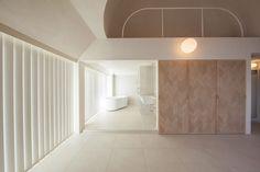 Appartement de 34 à Tokyo par Hiroyuki Ogawa Architects - Journal du Design Zen Design Interior, Interior And Exterior, Architectural Digest, Dream Home Design, House Design, Tokyo Apartment, Studio Apartment, Architecture Design, Theme Hotel