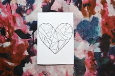 DIY: Easy Valentines day cards // A whole Lotte love