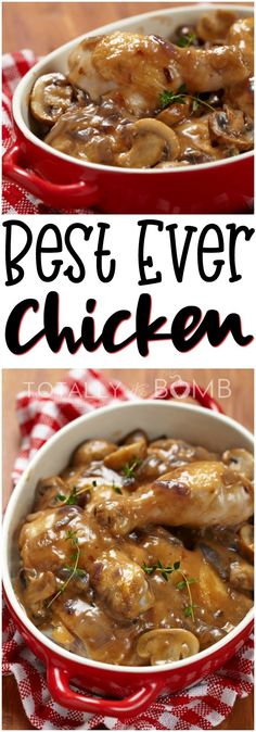 This is the best chicken recipe you will ever make. You will never need to make any other chicken after this. This is it.