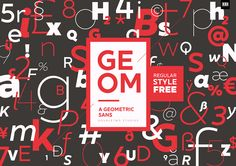 XXII Geom - Font Family on Typography Served