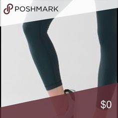 Looking for Lululemon or Athletica 7/8 leggings Only looking for solid colors, no prints or mesh. Size 2 only!!! Under $50 please! Thanks! lululemon athletica Pants Leggings