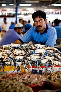 Deira Fish Market, Dubai, UAE