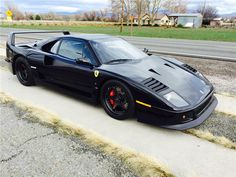 This 1991 Ferrari F40 had the work done by the Fast and Loud Crew, M. Luongo, lead tech for Ferrari and Lamborghini certified, Stuart Singer, an expert in Fe...