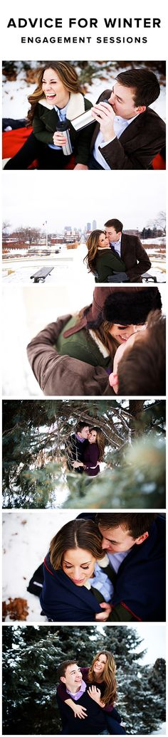 What to wear, what to bring, and where to go! Oneone.co goes in detail explaining how to make your Winter Engagement Session awesome! http://www.oneone.co/blog/winter-engagement-session-advice