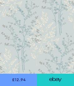 I Love Wallpaper Shimmer Birds Wallpaper Soft Grey Silver