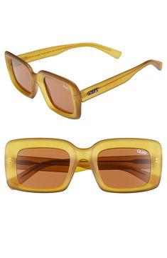19199a87bd Quay Going Solo 48mm Square Sunglasses