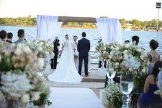 Casamento ao ar livre, casamento a beira do lago, decoração casamento