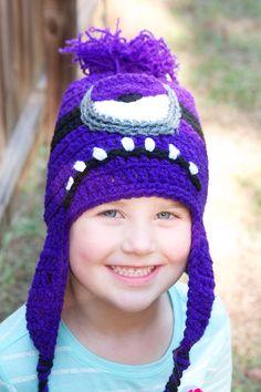 Purple Minion Inspired Hat on Etsy, $25.00