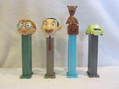 """MR. BEAN"" Pez Dispenser Loose Mint Set of 4 | eBay"