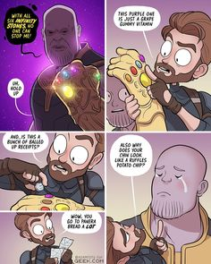 Adam Ellis So the avengers could win Funny Marvel Memes, Marvel Jokes, Dc Memes, Avengers Memes, Funny Comics, Marvel Avengers, Marvel Dc Comics, Marvel Heroes, Captain Marvel Trailer