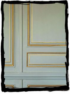 have some decorum: Parisian Apartment. Part Sept. L'appartement: Boiserie.