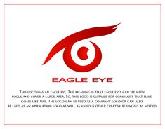 Concept Portfolio Eagle Eye Logo Eye Logo, Eagle Eye, Typographic Logo, Logo Color, Meant To Be, Logo Design, Company Logo, Concept, Eyes
