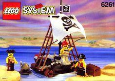 Old Lego System Sets Lego set 6261
