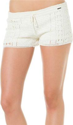 Element Nostalgia Crochet Shorts http://www.swell.com/Womens-Shorts-Rompers/ELEMENT-NOSTALGIA-CROCHET-SHORT?cs=NA @SWELL Style