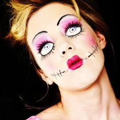halloween make up   ... last post when it comes to Halloween make-up 'the scarier the better