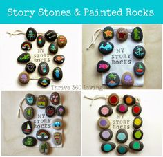 Thrive 360 Living: Story Stones and Painted Rocks