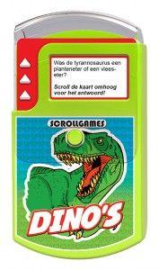 Dino Scrollgame nova carta recvensie review winactie dinosaurussen