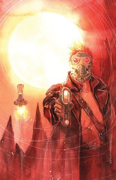 The Legendary Star-Lord #3 variant cover by Dustin Nguyen *