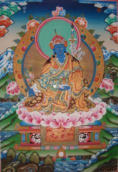 Padmasambhava, Guru Rinpoche as Medicine Buddha