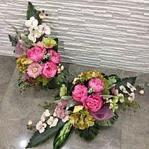 Cemetery Flowers, Floral Wreath, Wreaths, Design, Decor, Floral Crown, Decoration, Door Wreaths