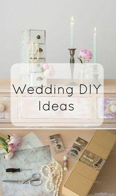 All the Wedding DIY inspiration you need for your big day | #weddingdiy | Confetti.co.uk
