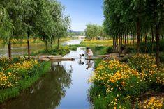 turenscape sanlihe river ecological corridor 02 « Landscape Architecture Works   Landezine