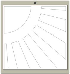 Free Sun cutting file / template by Laina Lamb for Creating Keepsakes http://www.creatingkeepsakes.com/articles/Sunshine_Background_Template_Download