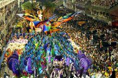 One of the schools of samba in Rio.