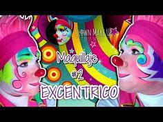 Maquillaje de Payaso EXCENTRICO / Tutorial #2 - YouTube