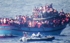 Hundreds of migrants feared dead in Mediterranean sinking - Telegraph. The Italian official confirmed that navy vessels were involved in the operation, which was being coordinated by the Italian coast guard in Rome. But he said details were still being evaluated. The boat is believed to have capsized when migrants moved to one side of the overcrowded vessel when a merchant ship approached.