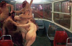 Juxtapoz Magazine - Art History Joins Your Daily Commute: A Series by Alexey Kondakov