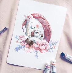 Вот так встаёшь в рань несусветную, будишь маленького единорога в сад, а он пахнет так вкусно и тепло, что хочется в него зарыться и обратно спать  #единорог #единорожка #единорог #мама #ямама #маминадочка #маминалюбовь #иллюстрация #открыткамаме #unicorn #unicorn #mummylife #momlife #motherhood #momlove #artstagram #illustrationoftheday #artoftheday #artoftheweek #cute #cutedrawing #милота #bambinic❤️ #ootd #topcreator #miftvorchestvo #материнство #instamama #selfmamarussia #veter...