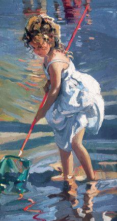 Coastal Idyll II--Sheree Valentine Daines
